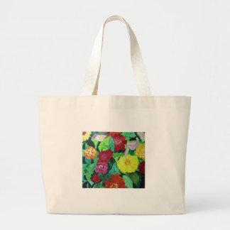 Whimsical Garden Jumbo Tote Bag