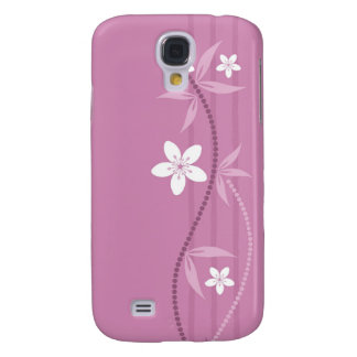 Whimsical Garden Pink  Galaxy S4 Case