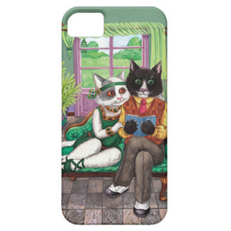 Whimsical Retro Cats from the Roaring 1920s iPhone 5 Cover