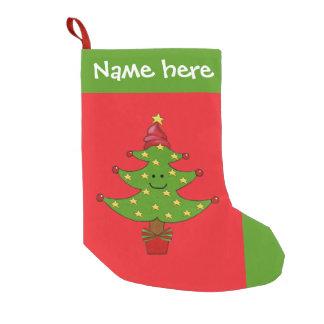 Whimsical Tree Christmas Stocking
