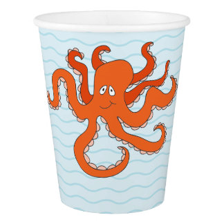 Whimsical Under the Sea Paper Cup