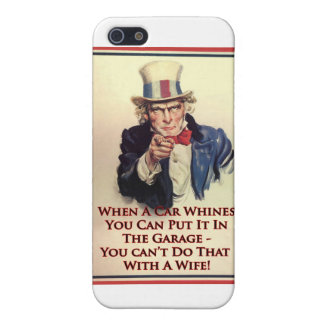 Whinging Uncle Sam Poster iPhone 5/5S Case