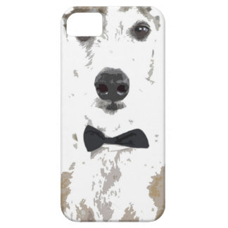 whippet cut out design in bow tie barely there iPhone 5 case