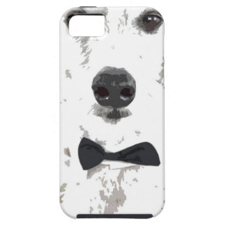 whippet cut out design in bow tie iPhone 5 case