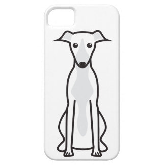 Whippet Dog Cartoon Case For The iPhone 5