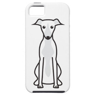 Whippet Dog Cartoon Tough iPhone 5 Case