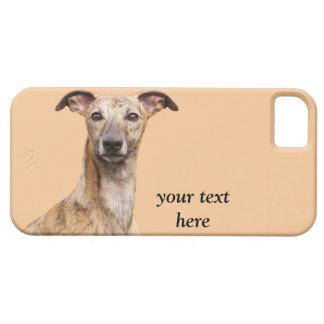 Whippet dog photo custom iphone 5 case mate, gift