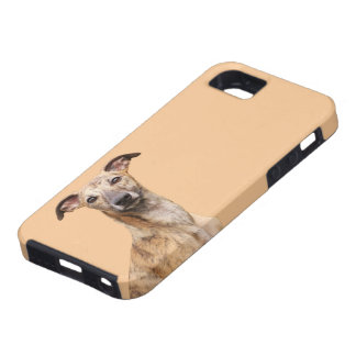 Whippet dog photo iphone 5 case mate, gift