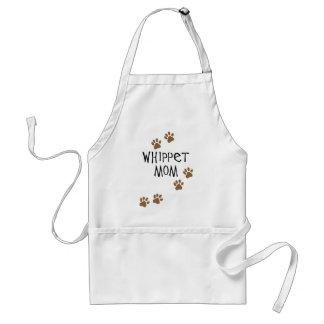 Whippet Mom for Whippet Dog Moms Standard Apron
