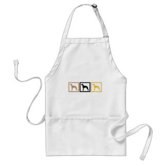 Whippet Squares Standard Apron