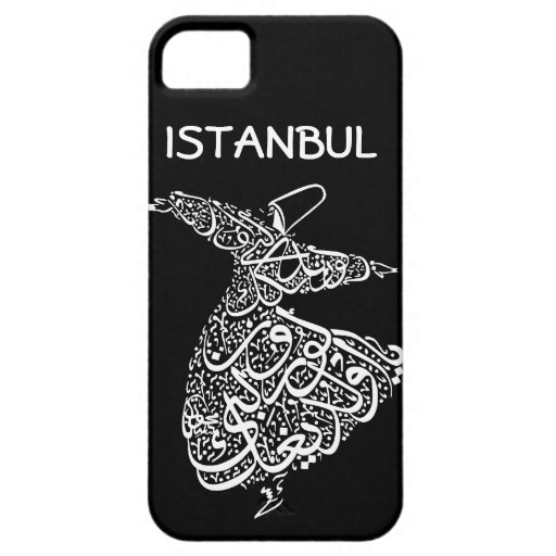 Whirling Dervish iPhone 5/5S Cases