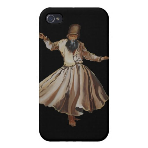 Whirling Dervish iPhone 4/4S Case