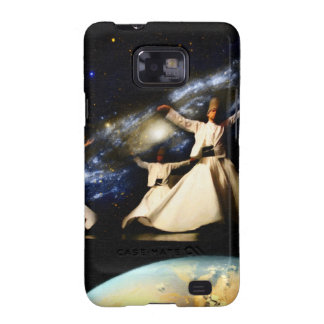 Whirling Universe Galaxy SII Case