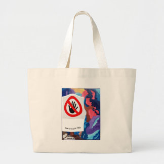 Whirlwind Can't Touch This Jumbo Tote Bag