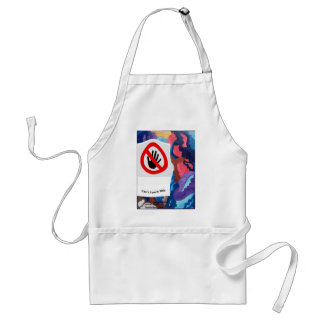 Whirlwind Can't Touch This Standard Apron