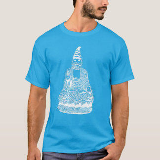 Whisks Buddha Gnome (white negative) T-Shirt