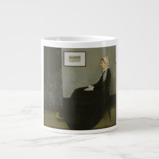 Whistler's Mother by James Abbot McNeill Whistler Large Coffee Mug