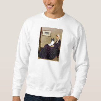 Whistlers Mother - Papillon 1 Sweatshirt