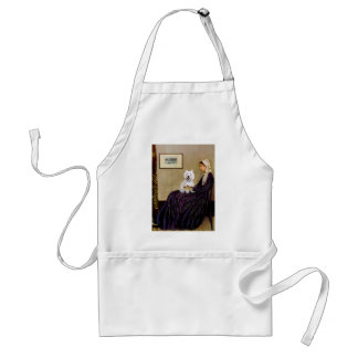 Whistlers Mother - Westie 2 Standard Apron