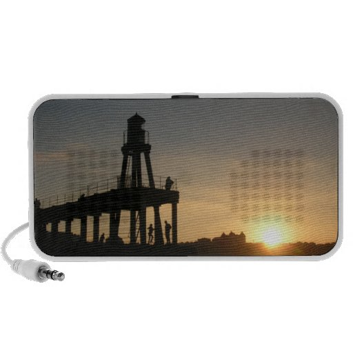 Whitby Sunset iPod Speakers