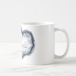 White 325 ml Classic Mug with Mermaid Theme