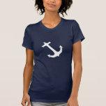 White Anchor Nautical T-shirt