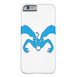 White And Blue Devil Barely There iPhone 6 Case