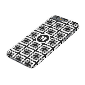 White and Gray Squares iPhone 6 Case