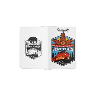 White Bear Train Passport Holder