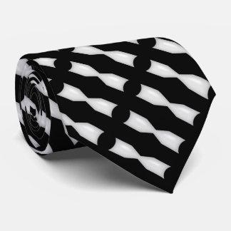 White Bowtie Black & White Tie