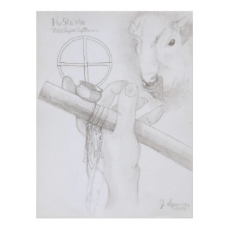 White Buffalo Calf Woman Print