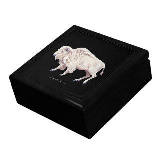 White Buffalo Cow Gift Box