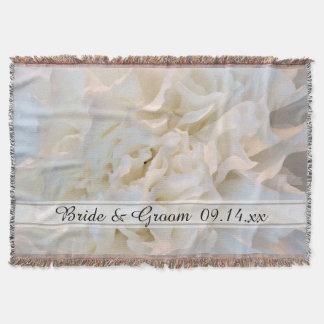 White Carnation Floral Wedding