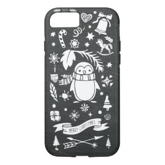White Christmas 2015 iPhone 8/7 Case