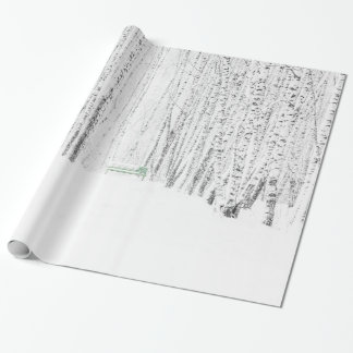 White Christmas Tale Wrapping Paper