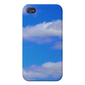 White Clouds, Blue Sky - Phone Cover Cover For iPhone 4