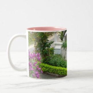 White Cottage Mug