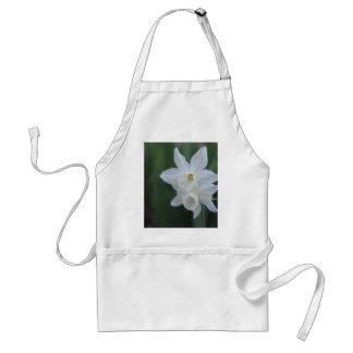 White Daffodil Standard Apron