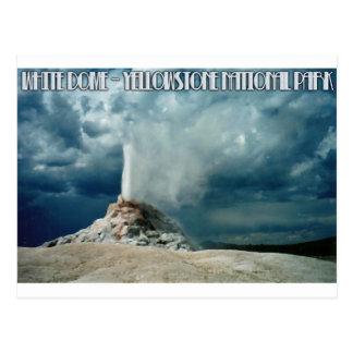 White Dome Geyser Postcard