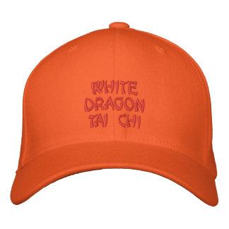 WHITE DRAGON TAI CHI BASEBALL CAP