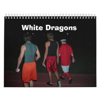 White Dragons - Customised Calendar