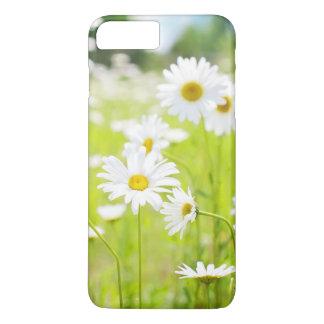 white flowers iPhone 7 plus case
