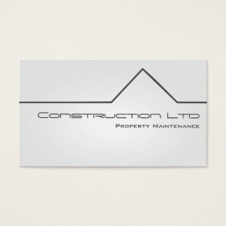 White Glow Property Maintenance Business Card