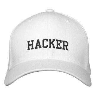 White Hat Hacker Embroidered Cap