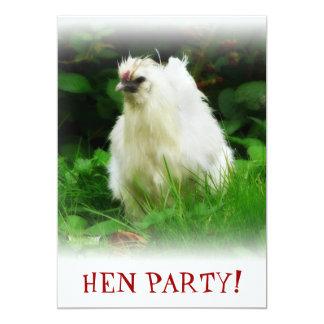 White Hen Bachelorette Party HEN NIGHT Invite