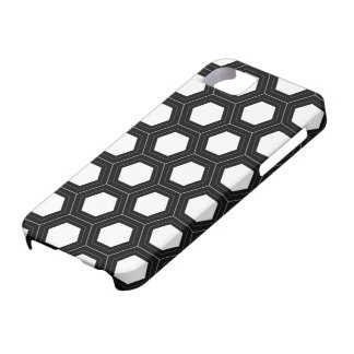 White Honeycomb iPhone 5 Cover