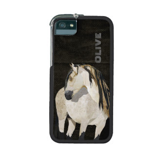 White Horse iPhone Case iPhone 5/5S Case
