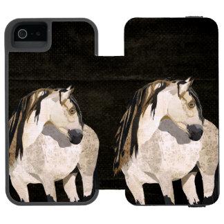White Horse iPhone Wallet Incipio Watson™ iPhone 5 Wallet Case