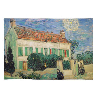 White House at Night - Van Gogh (1890) Placemat