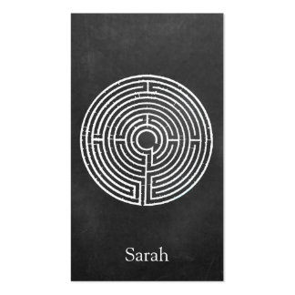 White Labyrinth Smartphone Case Pack Of Standard Business Cards